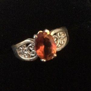 Vintage Rare Imperial Topaz Ring